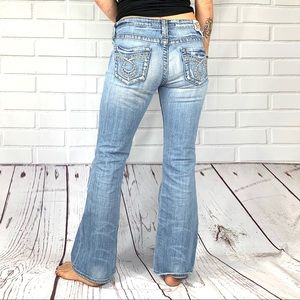 👖|•BIG🌟STAR•| Sz 28S•Sweet Ultra-Low Rise Jeans